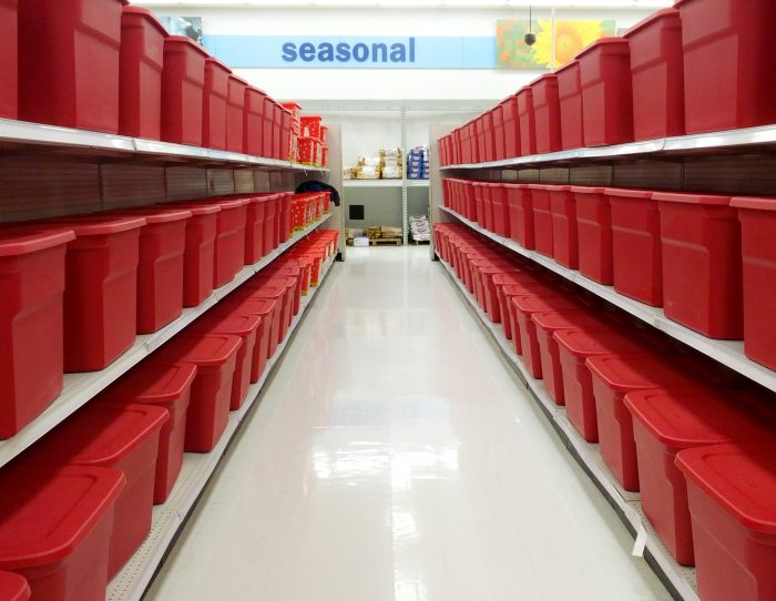 12. Invest in storage tubs.