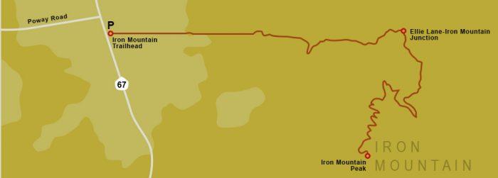 Iron Mountain Map
