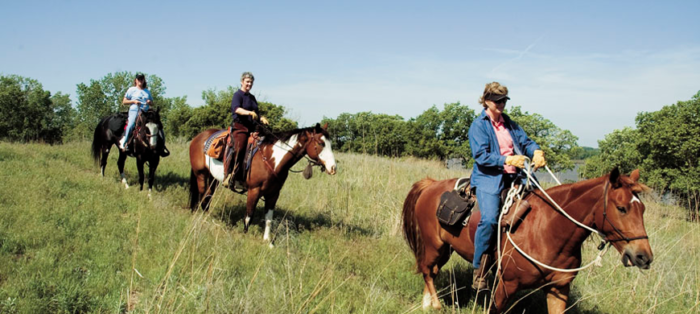 11. Ride your horse around Kanopolis State Park (Marquette)