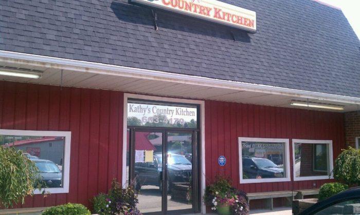 4. Kathy's Country Kitchen on 20 Black Creek Road in Clay City