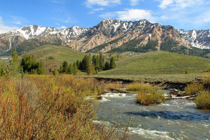7. Drink in the scenic heart of Idaho in Ketchum.