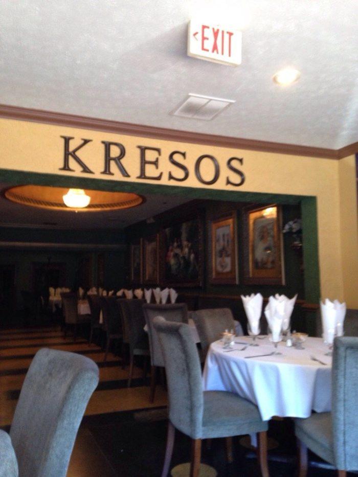 5. Kresno's at 218 N 3rd Street in Bardstown