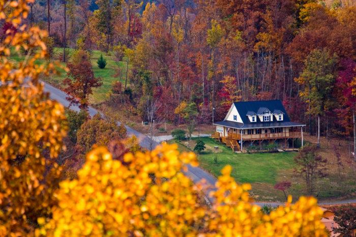 4. Man, houses like this.