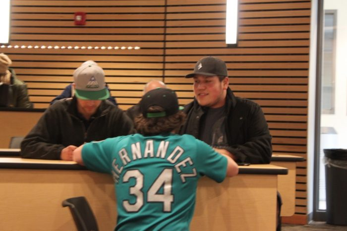 6. Have a conversation about the Seahawks, the Mariners or (RIP) the Sonics.