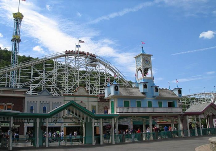 7. Lake Compounce may be known for its fun rides, but some folks think it's also haunted.
