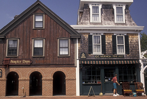 Downtown Lewes Delaware