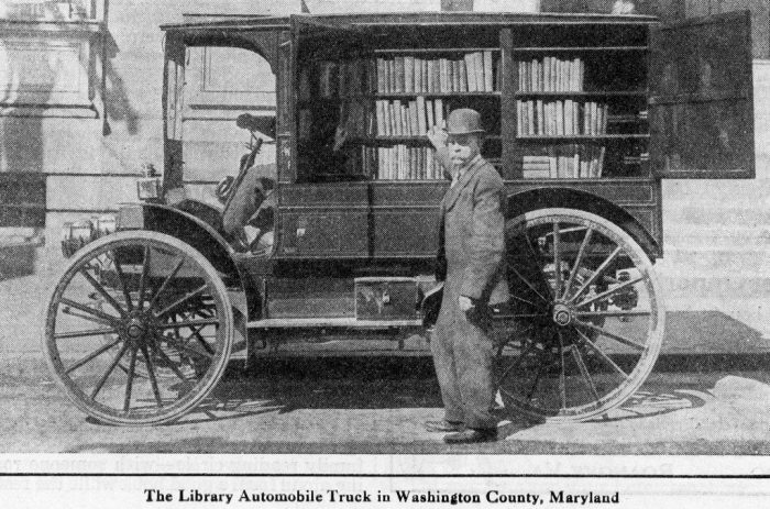 2. This was later upgraded to a library truck in 1916.