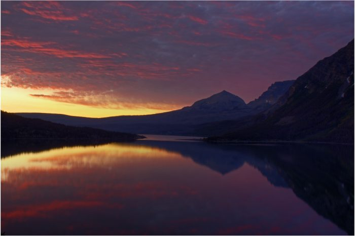 1. The sunrises.