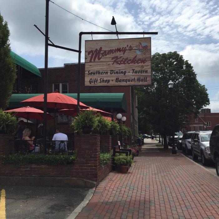 6. Mammy's Kitchen at 116 W Stephen Foster Avenue in Bardstown.