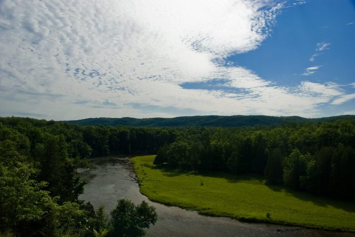 6. Camping along the Manistee River Trail