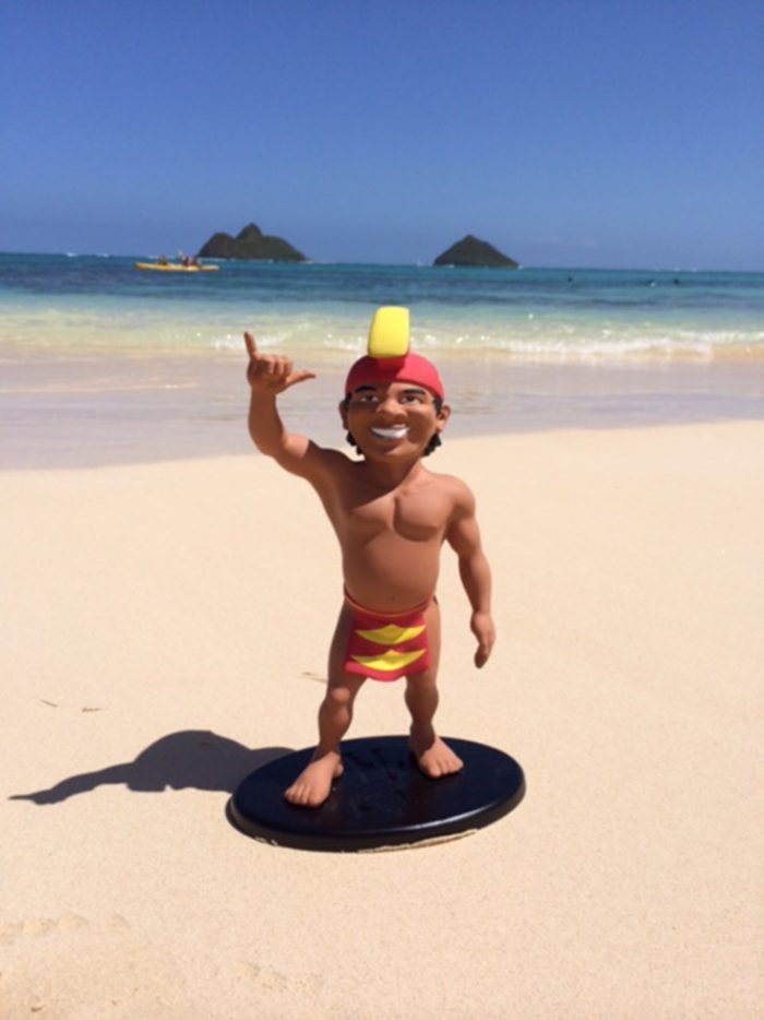 It is said that the Menehune enjoy singing, dancing, and cliff jumping; rumor has it that if you hear splashes in the middle of the night, it is possibly a Menehune diving into the Pacific. The Menehune also enjoy archery, and have been known to use magical arrows in order to pierce the heart of an angry individual to ignite feelings of love rather than anger.