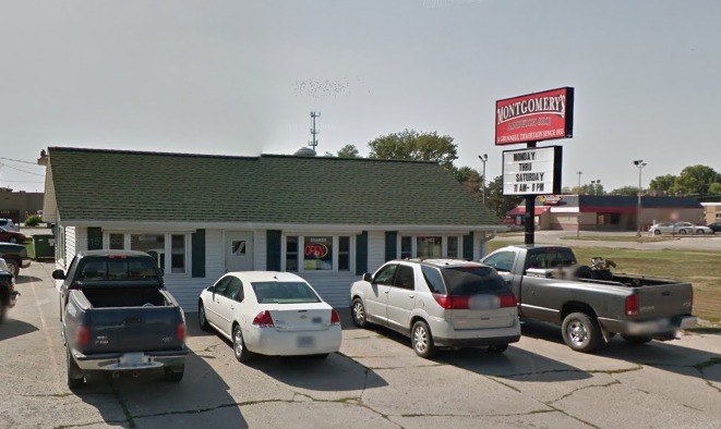 10. Montgomery's Sandwich Shop, Grinnell