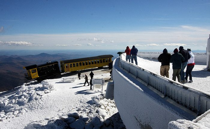 New Hampshire: The Mount Washington Summit