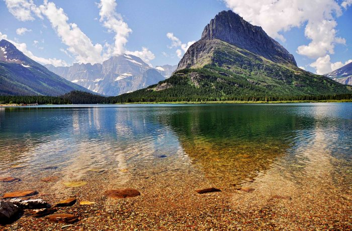 3. The lakes.