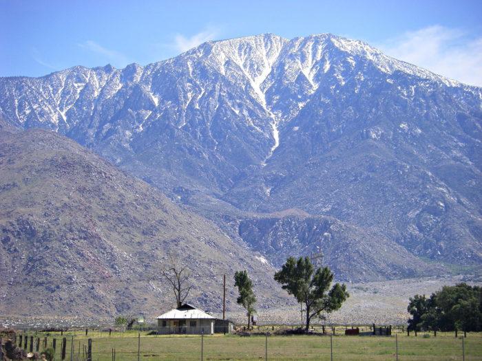 3. Mt. San Jacinto -- San Jacinto Mountains
