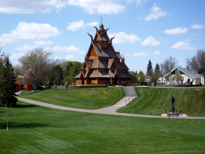 North Dakota: Scandinavian Heritage Park