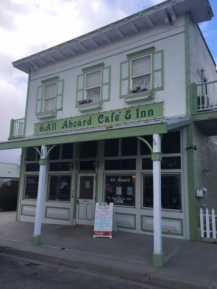 1. All Aboard Cafe & Inn - Ely, NV