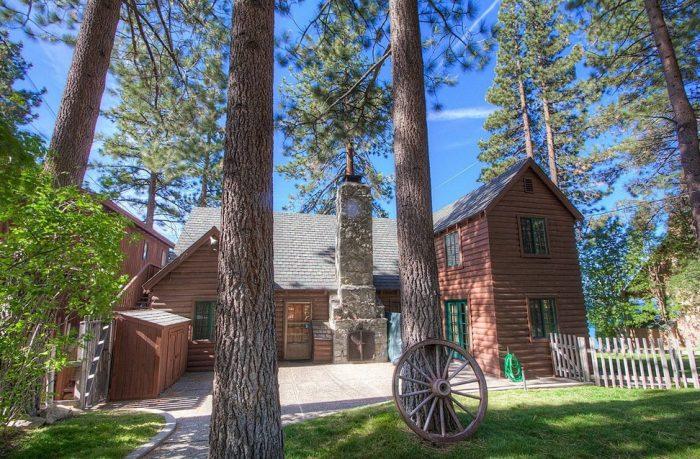 3. Lakefront Historic Cabin - Glenbrook, NV