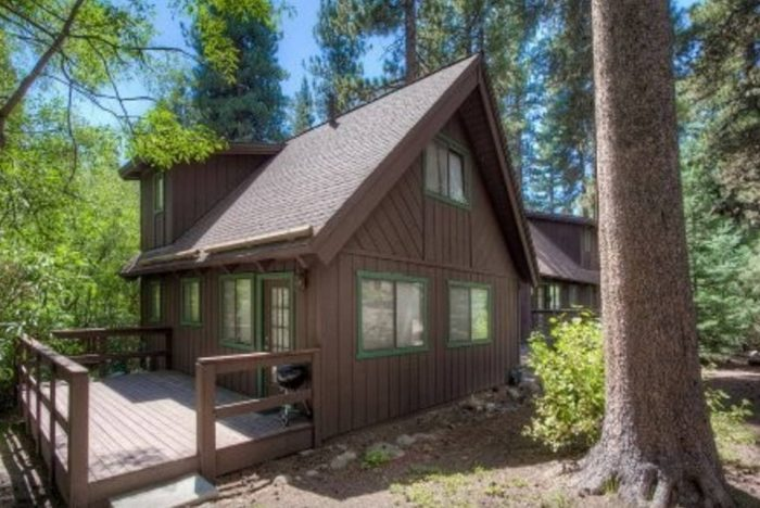 8. Tahoe Cabin in Forest Setting - Incline Village, NV