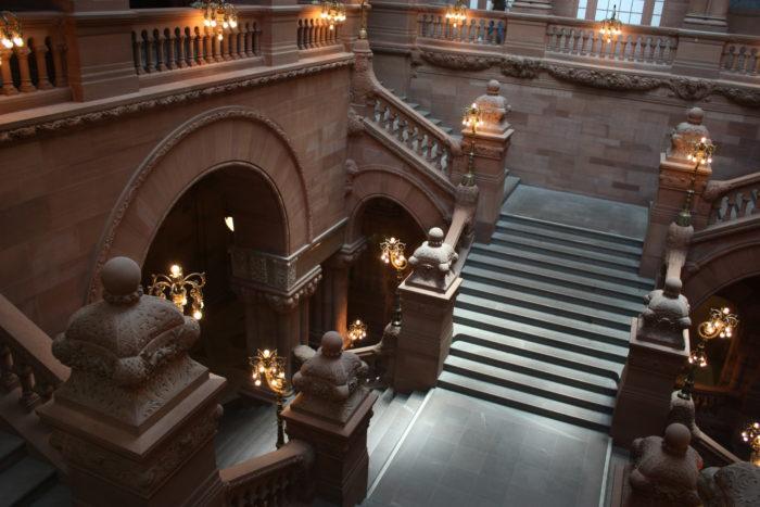 3. Samue Abbott, New York State Capitol