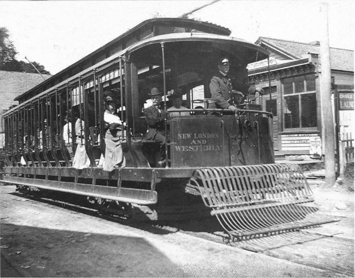 For instance, you may stumble upon Connecticut's trolley history.