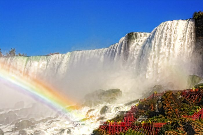 1. Forget staying dry and enjoy a one of a kind adventure at Niagara Falls' Cave of the Winds!