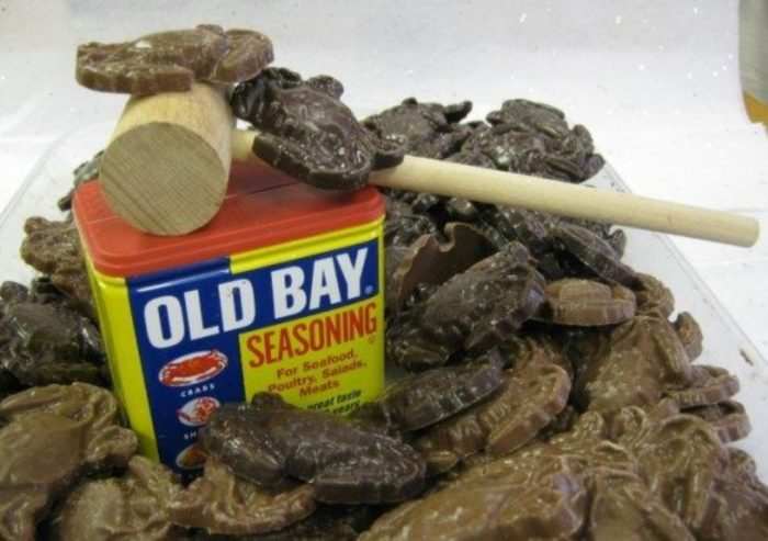 10. Old Bay infused chocolate. It's chocolate, with a kick! You can find this concoction at Sweet Cascades Chocolatier (they ship!) here.