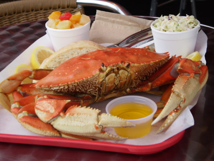 3. Dungeness Crab.