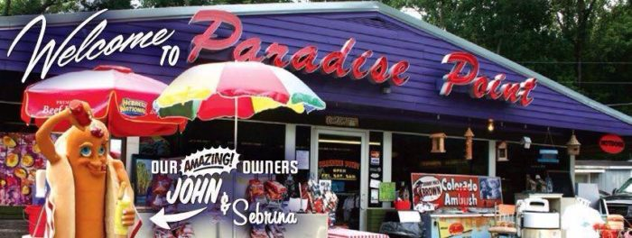 4. Paradise Point Market Place at 10300 New Glasgow Road in Scottsville.