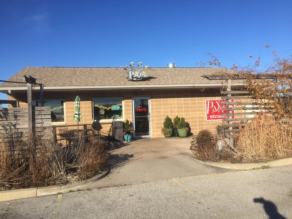 Payne S Restaurant Gas City Menu