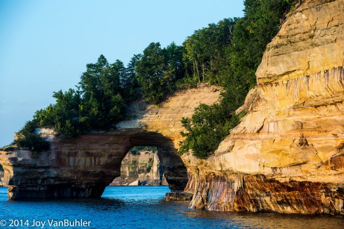 6. Pictured Rocks
