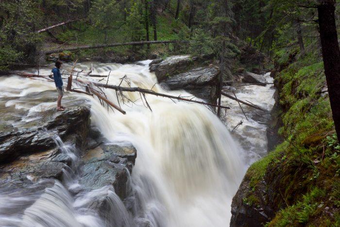 10. Pinkham Creek Falls, Rexford