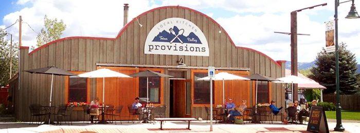 7. Provisions Local Kitchen, Driggs