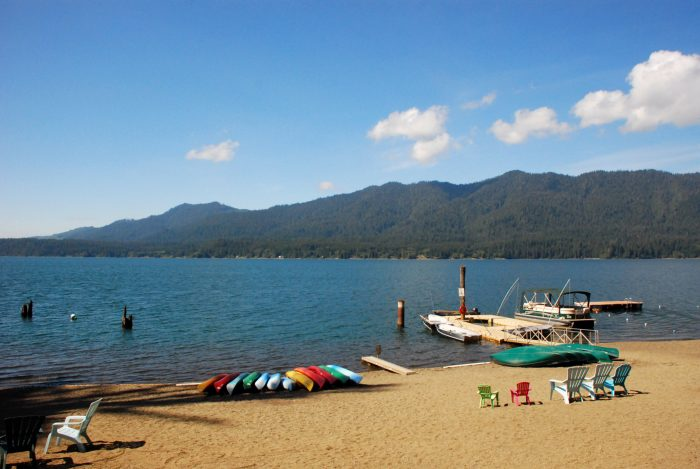 3.  Lake Quinault