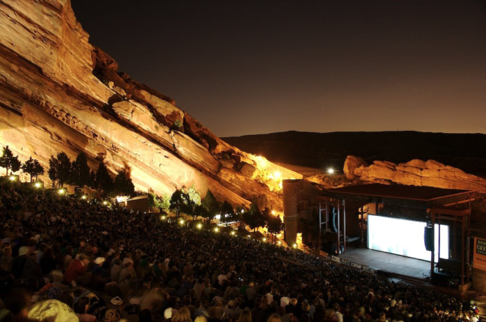 1. See a Film on the Rocks.