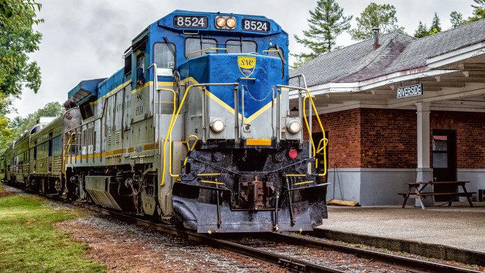 7. Saratoga & North Creek Railway, New York