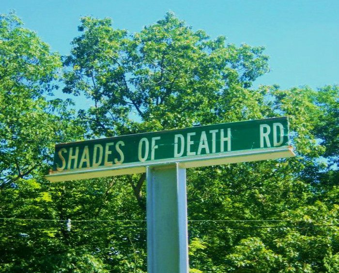 2. Shades of Death Road, Warren County