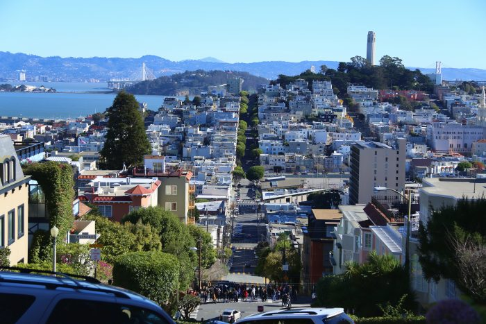 6. SF is built on (arguably) 43 hills.