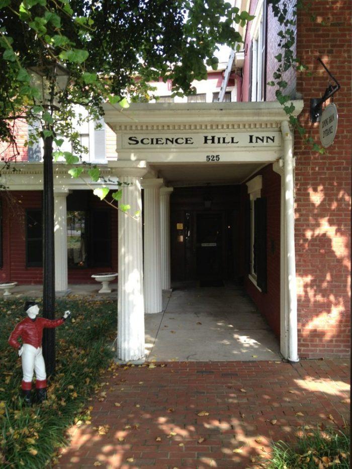 8. Science Hill Inn at 525 Washington Street in Shelbyville