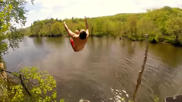 3. Selden Island is actually a state park only accessible from the water. Young people go here for some sweet cliff jumping.