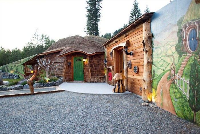 2. And the Genuine Hobbit House in Trout Creek.