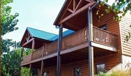 ...and large cabins...