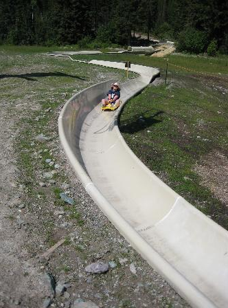 9. Check out Montana's only alpine slide.