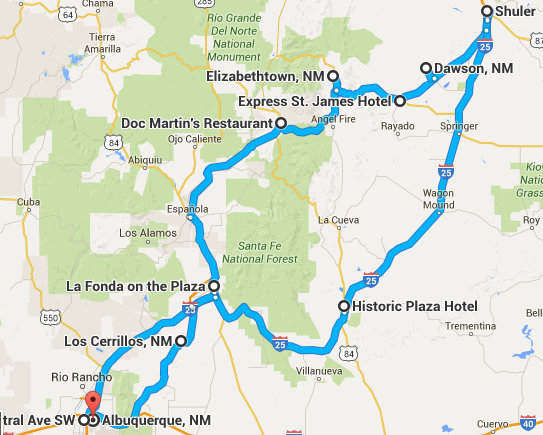 A Road Trip Through Haunted Places In Northern New Mexico