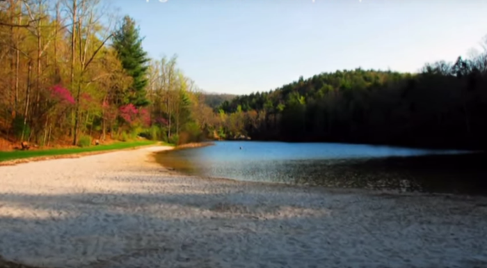 4. Cave Mountain Lake (Natural Bridge)