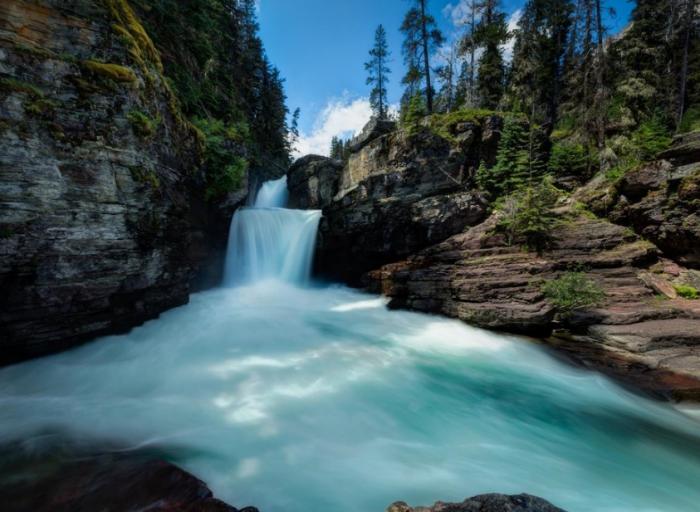 13 breathtaking hidden waterfalls in montana
