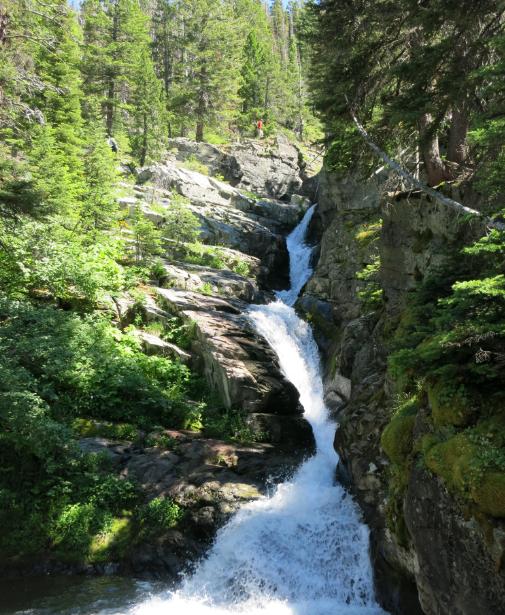 9. Aster Falls, East Glacier