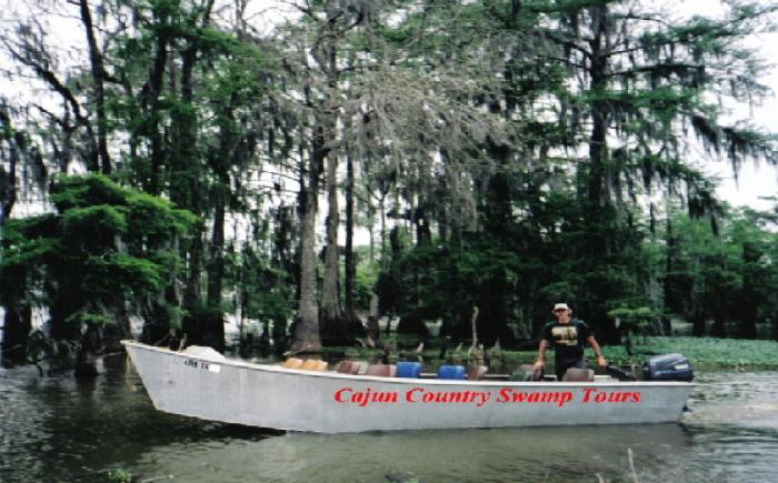 4) A Cajun Man's Swamp Cruise, Exit 109 on I-10, Breaux Bridge