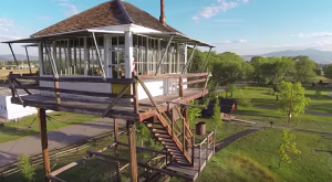 This Tranquil Flyover Will Give You A Whole New View Of The Historic Fort Missoula Complex