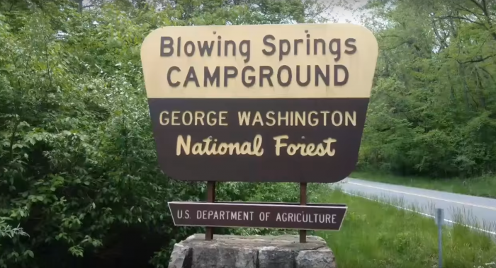 7. Blowing Springs Campground (Warm Springs)